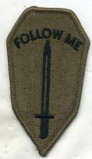 Vintage US Army Infantry School OD Subdued Patch