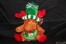 "NWT! Sugar Loaf Stuffed Christmas Reindeer Stocking Stuffer Gift Topper 12"""