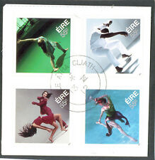 Ireland-Dance fine used block of four 2012 issue