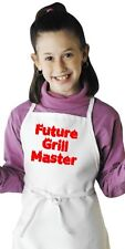 Kids Apron Pattern Future Grill Master Child BBQ Aprons by CoolAprons