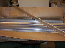 Mylar Price Holder with rail, clear 72 pcs, 36""