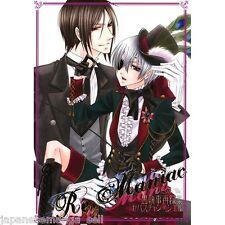 Kuroshitsuji yaoi Black Butler doujinshi Sebastian X Ciel Re:Maniac Naokichi