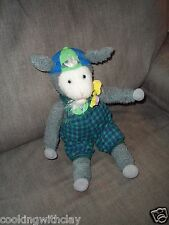 PLUSH DOLL FIGURE EASTER HALLMARK CRAYOLA GALLAGHER GOAT STORYBOOK CHARACTER TOY