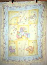 7 Pc Welcome To The World Nursery Bedding Set Comforter Diaper Bumper 2 Valances