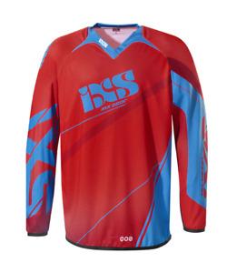 iXS Raceway Motocross Jersey Unisex Adult High Performance Apparel Polyester