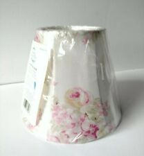 BRAND NEW Simply Shabby Chic Lamp Shade BLUSH BEAUTY Roses Chandelier