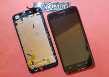 DISPLAY +TOUCH SCREEN per HUAWEI ASCEND G620S +COVER FRAME CORNICE NERO LCD