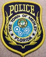FL Town of Medley Florida Police Patch
