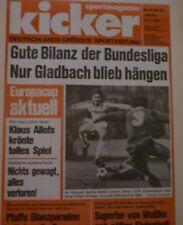 Kicker 1984 , Nr.91, Europacup Borussia Mönchengladbach , 1.Fc Köln , HSV