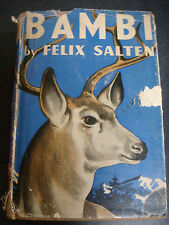 BAMBI BY FELIX SALTEN EARLY EDITION