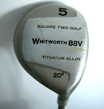 Square Two Golf Whitworth 88V Titanium Alloy #5 20° Driver Lady Petite Graphite