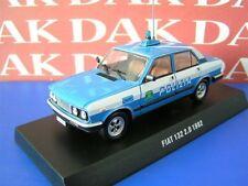 Die cast 1/43 Modellino Auto Police Polizia Fiat 132 2.0 1982