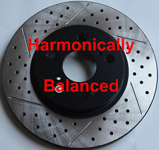 09-12 IS 250 250C Drilled Slotted Rotors Noise Reduction Technology F+R Set