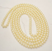 Beads Japanese Glass Luster Pearls 6mm