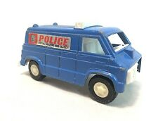 Tootsie Vintage 1976 Police SWAT Van Blue White Diecast Metal Made In USA
