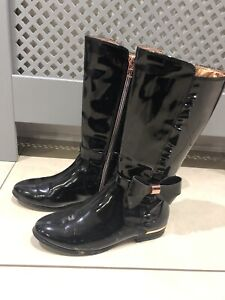 Ted Baker Girls Boots Uk 2