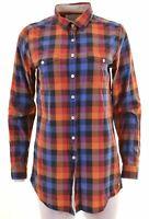 JACK WILLS Womens Shirt Size 10 Small Multi Check Cotton  EX10