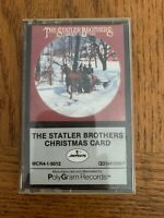 The Statler Brothers Christmas Card Cassette