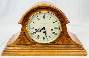 Howard Miller Mechanical Westminster Chime Mantle Clock Oak Wood AEL01 Germany