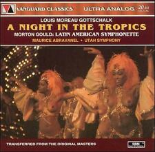 Louis Moreau Gottschalk: A Night in the Tropics CD, Jun-1995, Vanguard Classics