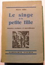 COLONIES/LE SINGE ET LA PETITE FILLE/HIST  EXOTIQUES/P.MILLE/1927/EO/BOULLAIRE