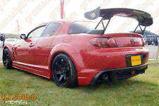 Mazda RX-8 GT Wing Spoiler for Racing, Drifting, Aero (matches APR, SARD) v6