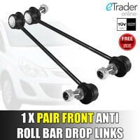 Fits Vauxhall Corsa D Mk3 Front Anti Roll Bar Drop Links Link x 2 Front PAIR NEW