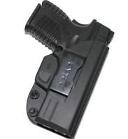 """For Springfield XDS 3.3"""" 9mm/40/45 - Polymer IWB (Inside Waistband) Gun Holster"""