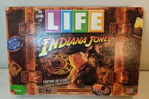 2008 Life Game Indiana Jones Life Edition Replacement Parts and Pieces
