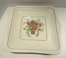 Wedgewood Belmar Square Handled Cake Plate