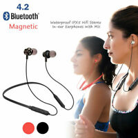 Sweatproof Bluetooth Headset Wireless Stereo Sport Headphones Earphone Earbuds