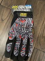 Supreme Mechanix Original Work Wear Gloves Red; Size Medium