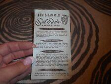 Vintage Flyer Arm & Hammer