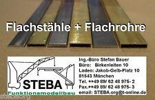 Messingprofil 3 Stück  H 3x2mm von STEBA 8223