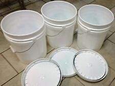 Buckets 5 Gal. Food Grade 90mil (3ct.)