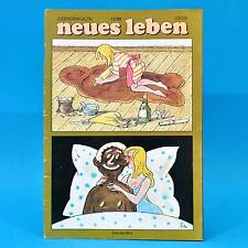 DDR Neues Leben 12/1989 Kläden Chris de Burgh Ulla Meinecke Rainhard Fendrich V