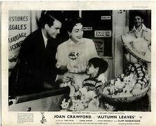 AUTUMN LEAVES 1956 Joan Crawford, Cliff Robertson Vera Miles 10x8 LOBBY CARD SET