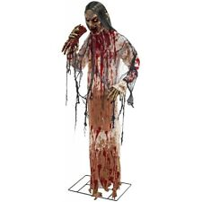 Scary Halloween Prop Life Size Ghoul Zombie Haunted House Yard Decoration