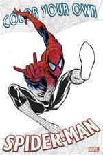 Color Your Own Spider-Man (2017, Taschenbuch)