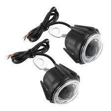 2pcs LED Headlight Mirror Mount Motorcycle Spot Fog Lamp For Ducati