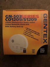 Gentex GN-503 Smoke Carbon Monoxide CO Detector Alarm Combo 120V Hardwired