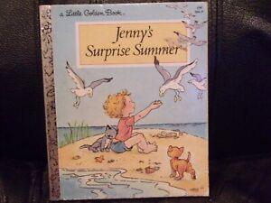 Jenny's Surprise Summer - A Little Golden Book- 1981