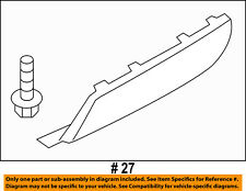 FORD OEM 11-15 Explorer REAR BUMPER-Tow Bracket Cover BB5Z17F000BA