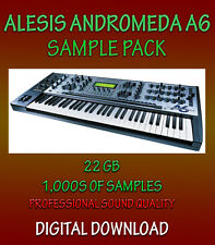 ALESIS ANDROMEDA A6 SAMPLES IN WAV FORMAT - FOR ALL WAV SOFTWARE  **DOWNLOAD**