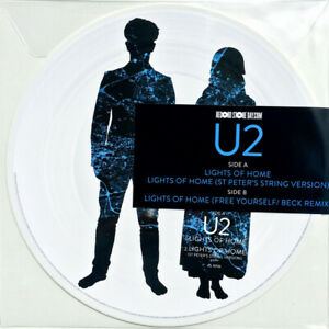 """U2 LIGHTS OF HOME VINILE EP 12"""" PICTURE DISC RECORD STORE DAY 2018 21 APRILE"""