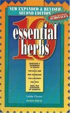 10 Essential Herbs by Thomas, Lalitha
