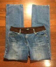 INC International Concepts Jeans Size 10 Women's Mid Rise Medium Wash Bootcut
