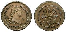 CARLOS IV. 1 MARAVEDI, 1793. SEGOVIA.