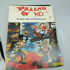 DUTCH COMIC BOOK:  PALING EN KO, TOTO DE TOVENAAR No. 12 (b17)