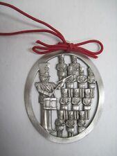 Hampshire Pewter ornament: TWELVE DRUMMERS DRUMMING